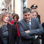 """Maria Elena Boschi, sopralluogo a Taormina in vista del G7: """"Lavori procedono bene"""""""
