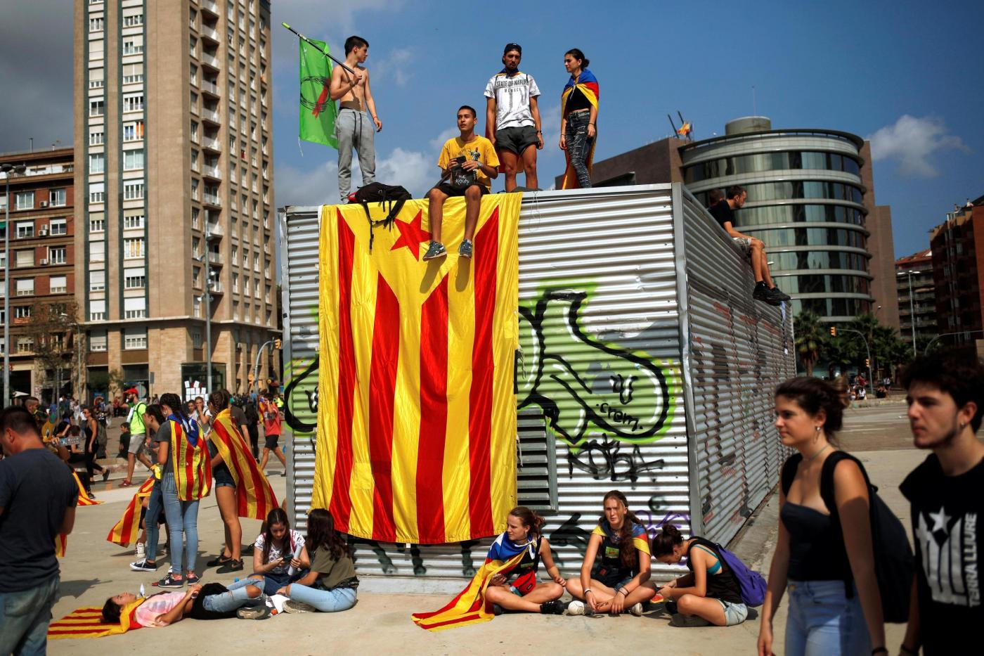 L'intervista di Vincenzo Cardile: Roberta, messinese, ci racconta la Rivoluzione d'Ottobre in Catalogna