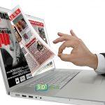 Giornali on line, credito d'imposta al 75 % per chi fa pubblicità on line
