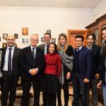 LA FOTONOTIZIA – L'EX PRESIDENTE ANM PIERCAMILLO DAVIGO INCONTRA I COLLEGHI MESSINESI