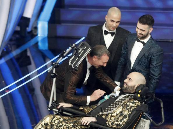 Sanremo, 10 milioni di spettatori. Gabbani in testa alla classifica